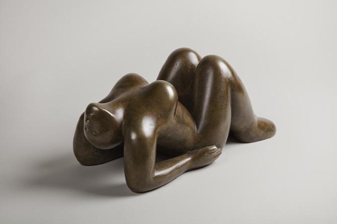 & Reclining Figure - Juginder Lamba - Sculptor islam-shia.org